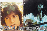 Rare Spiral Notebooks - Partridge Family, The 1972 Spiral Notebook-David Cassidy (Face Close-Up) Westab MT; Partridge Fa...