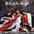 Autographs, The Who