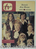 Autographs, Lot of Seven TV Guides