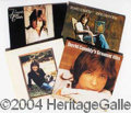 Autographs, Large Lot of David Cassidy Records - LPs