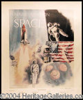 Autographs, Amazing Astronauts Lithograph with Neil Armstrong!
