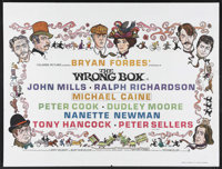 "The Wrong Box (Columbia, 1966). British Quad (30"" X 40""). Comedy. Starring John Mills, Peter Sellers, Michael..."