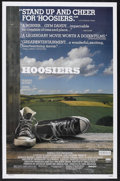 "Movie Posters:Sports, Hoosiers (Orion, 1986). One Sheet (27"" X 41""). Sports Drama.Starring Gene Hackman, Barbara Hershey, Dennis Hopper, Sheb Woo..."