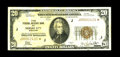 Small Size:Federal Reserve Bank Notes, Fr. 1870-J* $20 1929 Federal Reserve Bank Note. Fine-Very Fine.. This piece, which retains some crispness, is lightly staine...