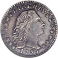 Early Half Dimes: , 1795 H10C MS61 NGC. V-2, LM-3, R.5. The last year of the FlowingHair half dime, which would be superseded the following ye...
