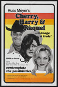 """Movie Posters:Adult, Cherry, Harry & Raquel (Eve Productions, 1970). One Sheet (27""""X 41""""). Adult. Starring Larissa Ely, Linda Ashton, Charles Na..."""