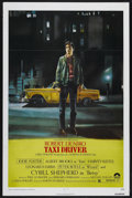 "Movie Posters:Crime, Taxi Driver (Columbia, 1976). One Sheet (27"" X 41""). Crime.Starring Robert De Niro, Cybill Shepherd, Peter Boyle, Jodie Fos..."