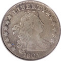 Early Dimes: , 1804 10C 13 Stars on Reverse VF30 PCGS. JR-1, R.5. Considered thekey date from among early dimes, the 1804 is known in two...