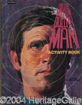 Autographs, Lot of Seven Six Million Dollar Man Coloring/Activity Books