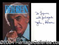 Autographs, John Delorean