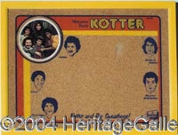 Bulletin Board/Trash Can - Welcome Back Kotter 1976 Bulletin Board Board King NM; Welcome Back Kotter Trash Can Cheinco...