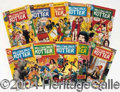 Autographs, Lof of 10 Welcome Back Kotter Comic Books