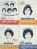 Autographs, Welcome Back Kotter Assortment of Notebook Paper