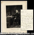 Autographs, General Winfield Scott Writes To General Meigs