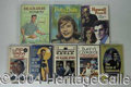 Autographs, Tons 'O TV-Inspired Fiction/Non-Fiction - All Vintage, All HighGrade (96 in all)