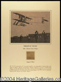 Autographs, The Wright Brothers