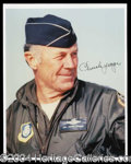 Autographs, Chuck Yeager