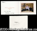 Autographs, Diana's 1993 Holiday Greeting: On Her Own!