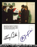Autographs, Jimmy Carter and Carl Yastrzemski