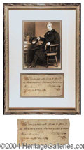 Autographs, William Henry Harrison