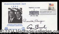 Autographs, Ronald Reagan & George Bush