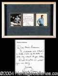 Autographs, Ronald Reagan