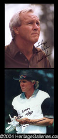 Autographs, Golf Greats