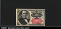 Fractional Currency: , 1874-1876 25c Fifth Issue, Walker, Fr-1309, CU. You may bid on ...