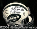 Autographs, 1969 New York Jets