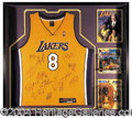 Autographs, 2000-2001 Champion L.A. Lakers