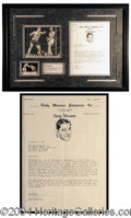 Autographs, Rocky Marciano--Speaking of Muhammad Ali!