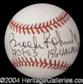 Autographs, Brooks Robinson