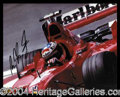 Autographs, Michael Schumacher
