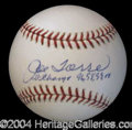 Autographs, Joe Torre