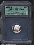 Proof Roosevelt Dimes: , 1996-S 10C SILVER, DC