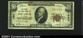 First National Bank of Fort Smith, AR, Charter #1950. 1929 $5 Type One, Fr-1800-1, Fine-VF. A problem-free example from...
