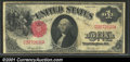 1917 $1 Legal Tender Note, Fr-36, Fine-VF. A problem-free example for the grade