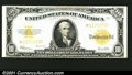 Large Size Gold Certificates:Large Size, 1922 $10 Gold Certificate Star Note, Fr-1173*, VF. A bright and...