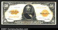 Large Size Gold Certificates:Large Size, 1922 $50 Gold Certificate, Fr-1200, VF-XF. A circulated example...