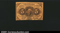 Fractional Currency: , 1862-1863 5c First Issue, Jefferson, Fr-1230, Fine. You may bid...