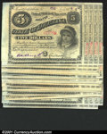 Obsoletes By State:Louisiana, 1870s, $5, State of Louisiana Baby Bonds, Choice CU, 25 unissue...