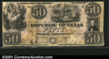Miscellaneous:Republic of Texas Notes, 1839 $50 Republic of Texas, Austin, Cr-A7, VF. The note is pun...