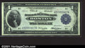 Large Size:Federal Reserve Bank Notes, 1918 $1 Federal Reserve Bank Note (Boston), Fr-710, Choice-Gem ...