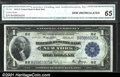 Large Size:Federal Reserve Bank Notes, 1918 $1 Federal Reserve Bank Note (New York), Fr-712, C.G.A. Ge...