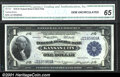 Large Size:Federal Reserve Bank Notes, 1918 $1 Federal Reserve Bank Note (Kansas City), Fr-737, C.G.A....
