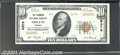 National Bank Notes:Kansas, Farmers National Bank of Abilene, KS, Charter #8379. 1929 $10 T...