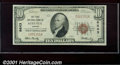 National Bank Notes:Kansas, First National Bank of Augusta , KS, Charter #6643. 1929 $10 Ty...