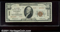 National Bank Notes:Kansas, Citizens National Bank of Emporia, KS, Charter #5498. 1929 $10 ...