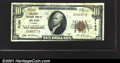 National Bank Notes:Kansas, First National Bank of Meade, KS, Charter #7192. 1929 $10 Type ...