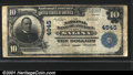 National Bank Notes:Kansas, National Bank of America, Salina, KS, Charter #4945. 1902 $10 T...
